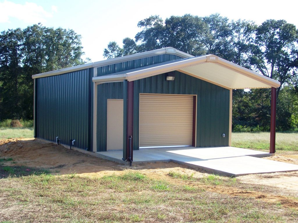 Residential Metal Buildings Shed